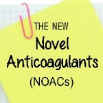 The New NOACs - anticoagulants graphic at A-Fib.com