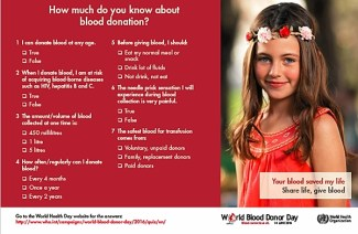 Quiz: How Much Do You Know About Blood Donation? At A-Fib.com