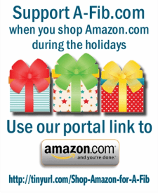 Use our portal link to shop Amazon.com http://tinyurl.com/Shop-Amazon-for-A-Fib