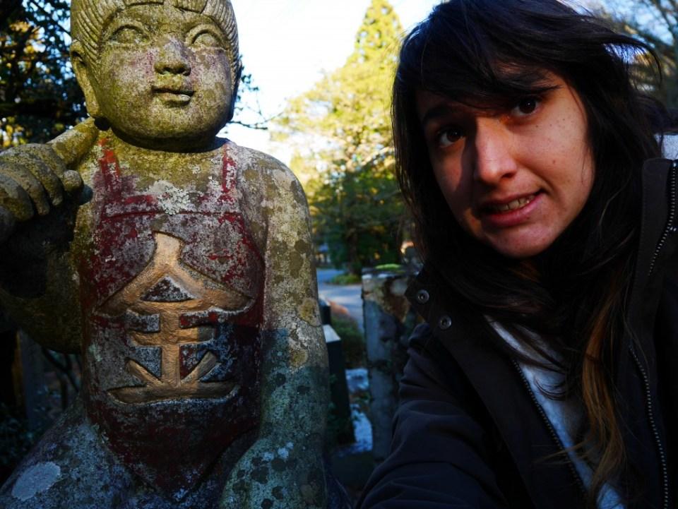Kintarou et moi !