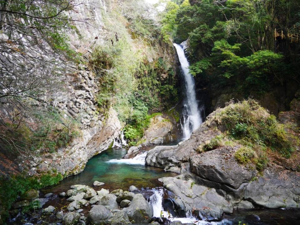 La 1ère cascade de Kawazu nanadaru : Kama-daru