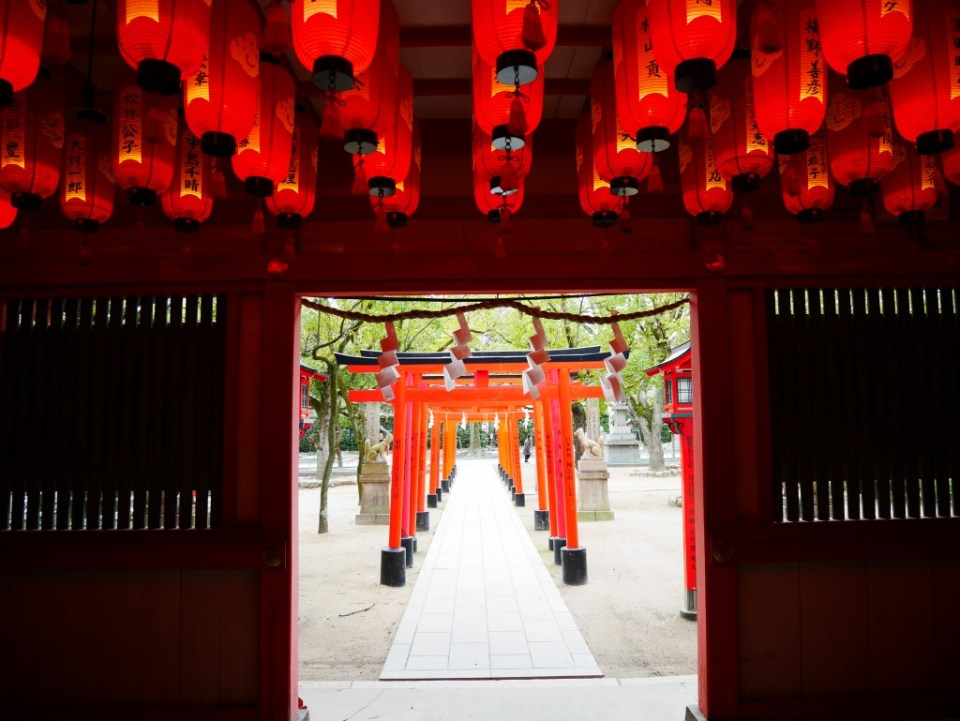 Le temple de Minatogawa