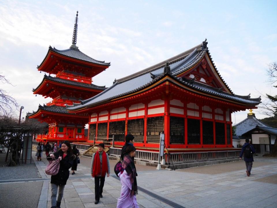 L'entrée du Kiyomizu-dera