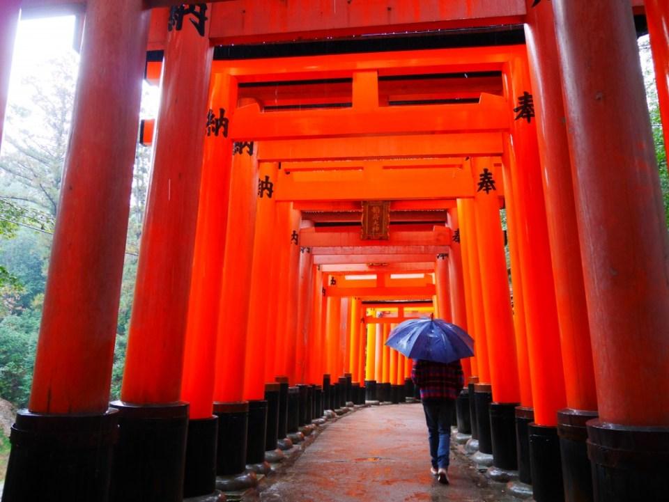 Hugo à Fushimi Inari