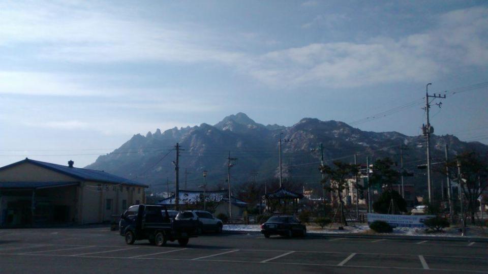 Une montagne plus familière