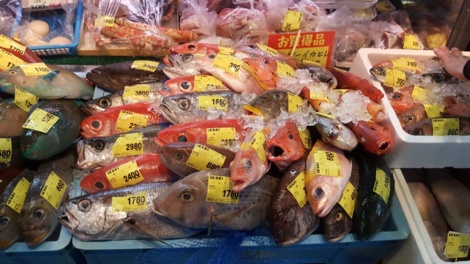 Un marché à Naha