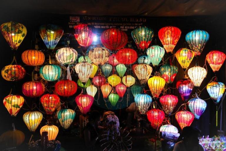 Beautiful lanterns in Hoi An