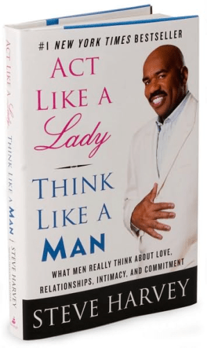 """Act Like A Lady Think Like A Man : think, BOOK,, Relationship:, LADY,, THINK, Really, Think, About, Love,, Relationships,, Intimacy,, Commitment."""", Steve, Harvey, A-FREE-CAN.COM"""