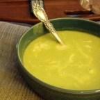 Potato, Leek, and Pea Soup