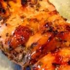 Grilled Tamarind and Orange Glazed Chicken