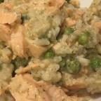 Slow Cooker Salmon Casserole