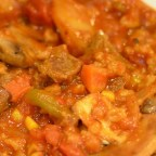 Slow Cooker Fresh Vegetable-Beef-Barley Soup