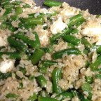 Vegetarian Fried Feta Rice by Andie