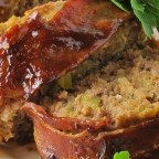BBQ Bacon-Wrapped Meatloaf