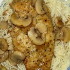 Mozzarella Chicken Marsala