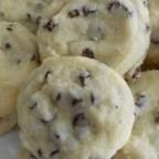 Tina's Shortbread Chocolate Chip Cookies