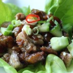 "Easy ""Peking Duck"" Lettuce Cups"