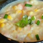 Potatoes and Corn Soup