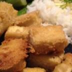 Tahini-Battered Tofu