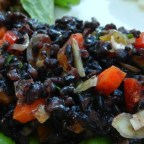 TK's Forbidden Black Rice Salad