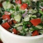 Amazing Cucumber Basil Salad