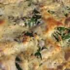 Chicken and Spinach Alfredo Lasagna