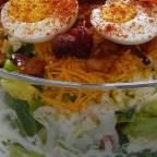 Twenty Four Hour Layered Salad