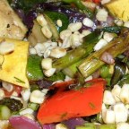 Grilled Vegetable Salad with Fresh Herb Vinaigrette