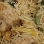 Pasta with Mushroom and Zucchini Sauce