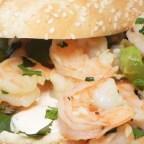 Saba's Shrimp Sandwiches