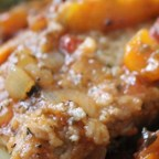 Veal Scallopini in a Sweet Red Pepper Sauce