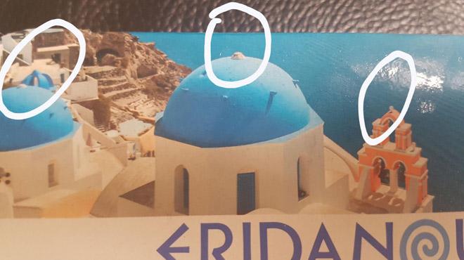 Antoine est scandalisé: Lidl a retiré les croix du paysage grec sur ses emballages