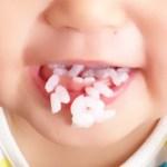 噛まずに丸飲みをやめさせる方法!1歳の赤ちゃんが噛んで食べる子になる解決策
