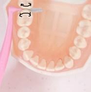 歯間ブラシの便利な使い方