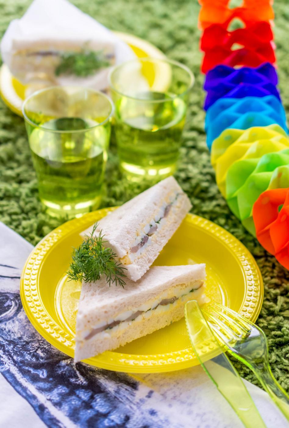 Vappupäivän piknikin eväsleivät