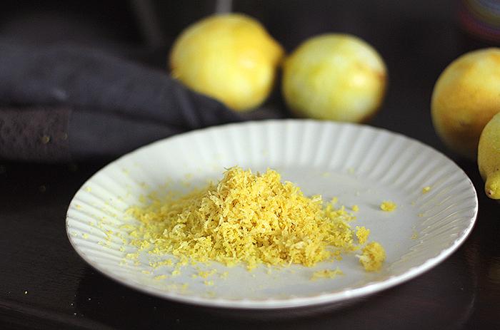 Sitruunainen ricotta-mantelikakku