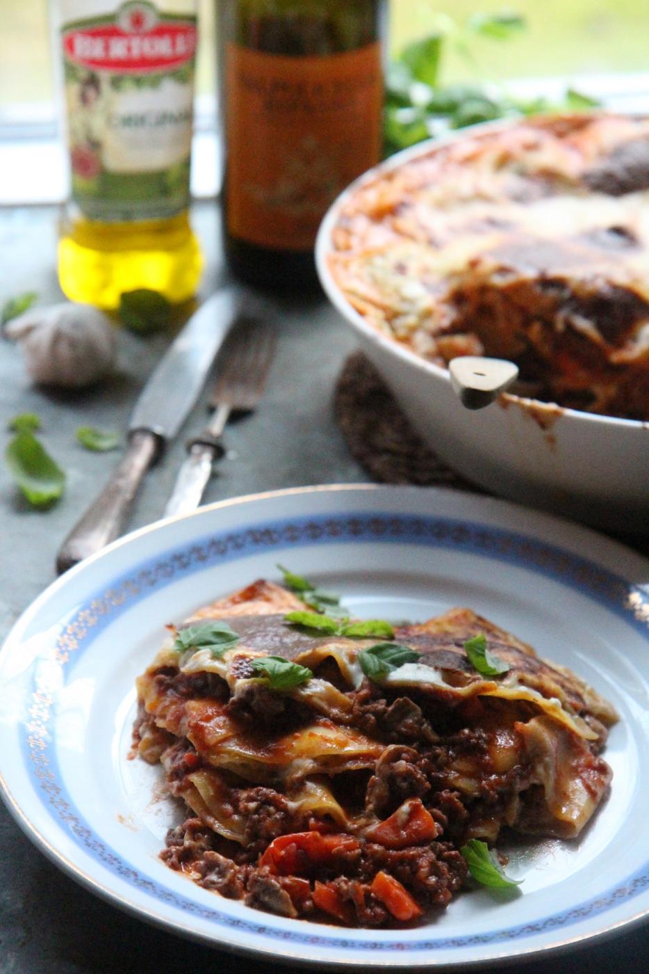 Astetta parempi lasagne
