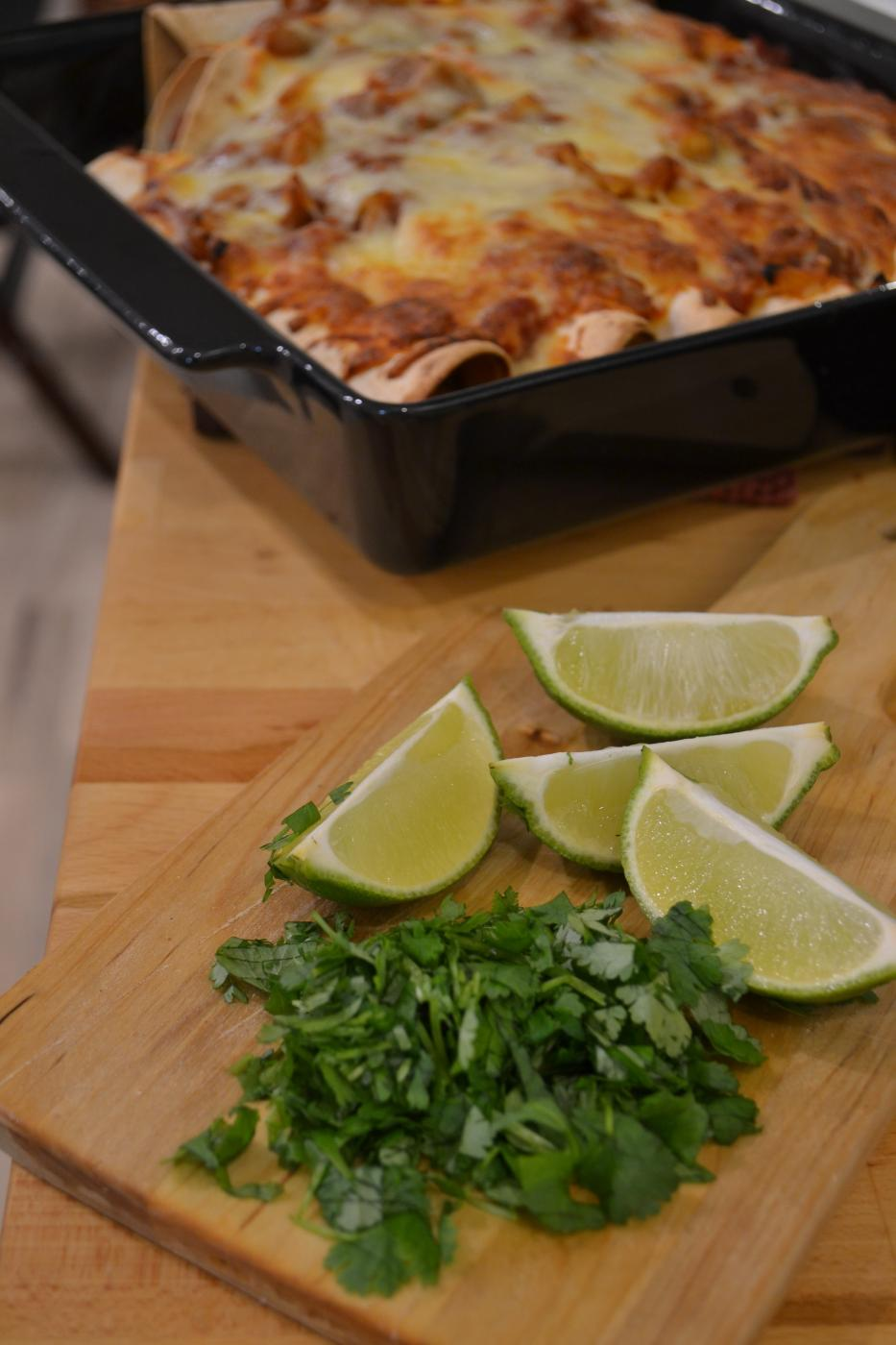Tuliset Nyhtöpossu Enchiladat