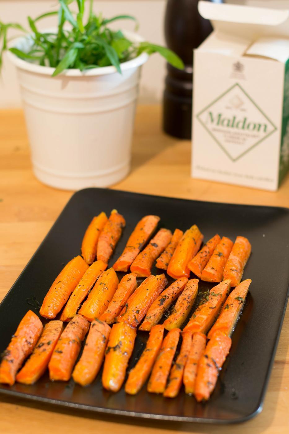 Yksinkertaisuuden ylistys: Paahdetut porkkanat