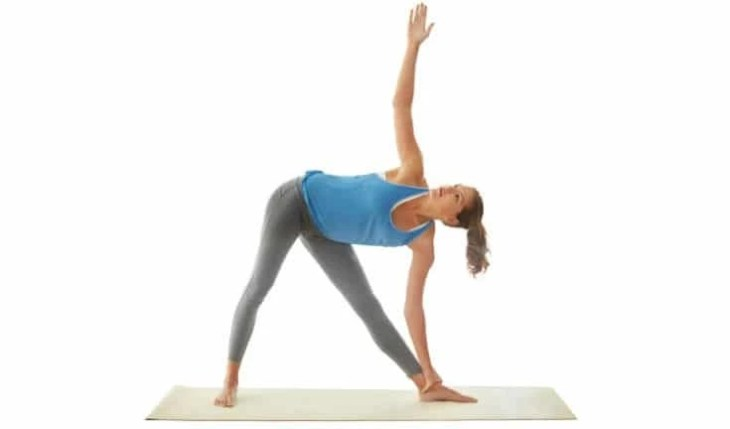 Triangle pose - A-Lifestyle