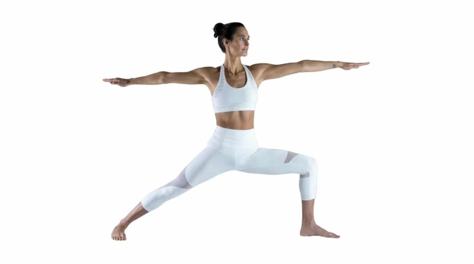Warrior 2 yoga pose - A-Lifestyle