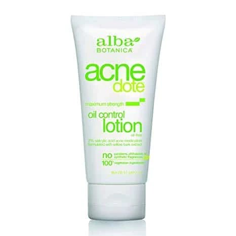 Alba Botanica Acnedote Maximum Strength Oil Control Lotion