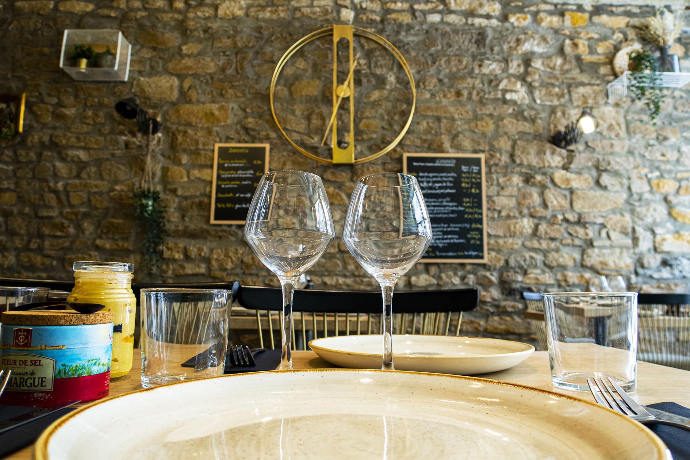 Verres - Restaurant A l'Improviste