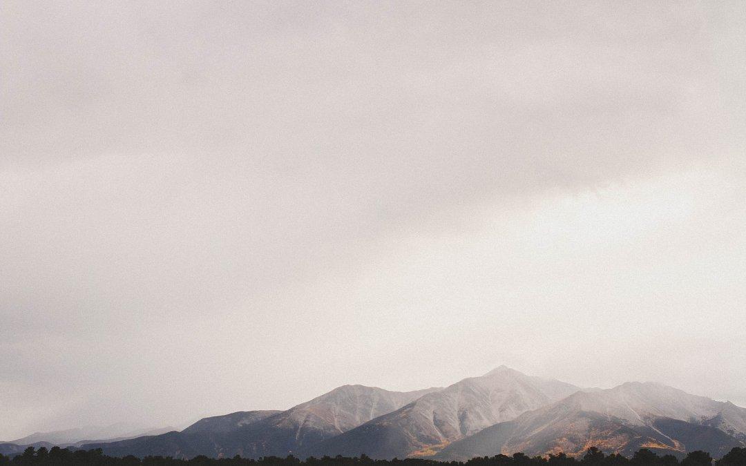Colorado   Foggy Mountains