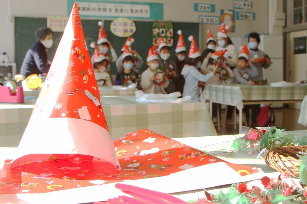 にこにこてーぶるクリスマス記念撮影