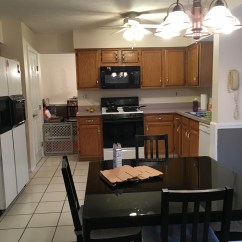 South Jersey Kitchen Remodeling Rustic Wood Island Remodel In Williamstown Located