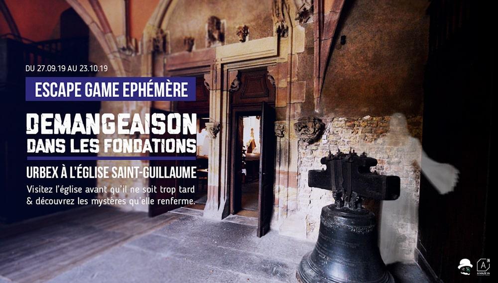Escape Game à l'église Saint-Guillaume
