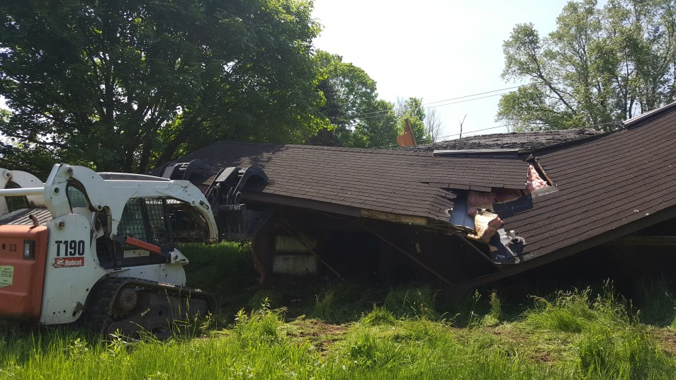 Northeast PA Mobile Home Demolition