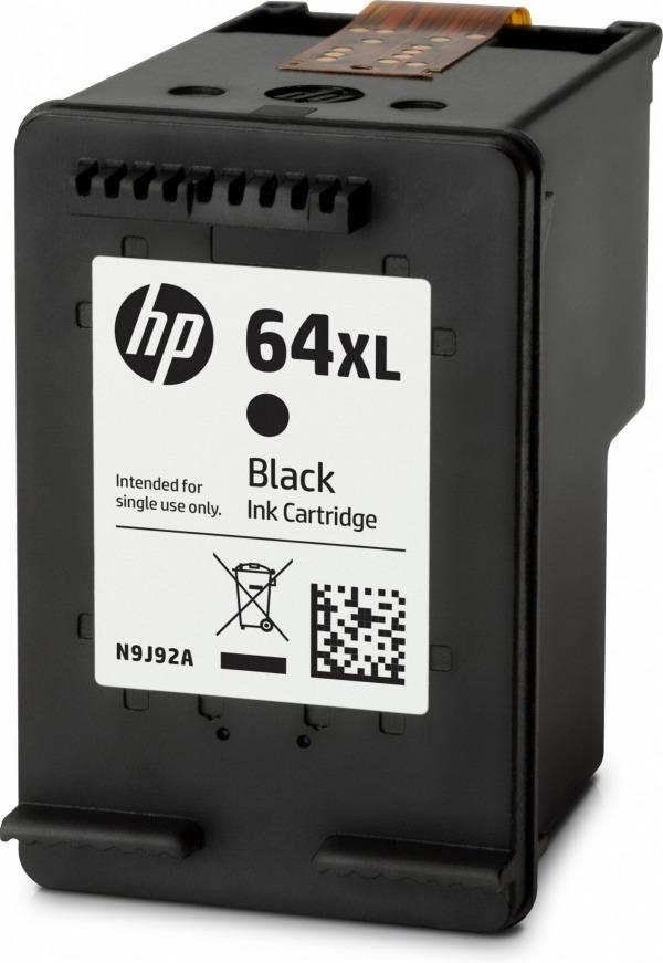HP 64XL 2-pack High Yield Black Original Ink Cartridges (X4D94BN) - A-Power Computer Ltd.