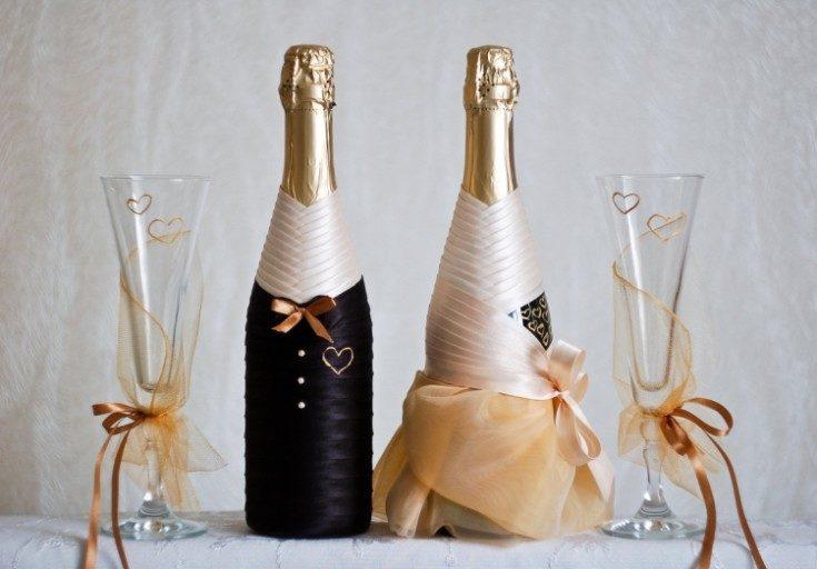 Boomul de nuntă continuă. Decor de șampanie de nuntă. Partea 1, Foto № 31